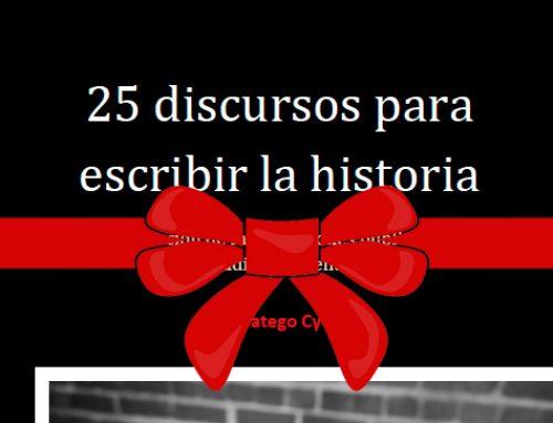 Stratego te regala el libro «25 discursos para escribir la historia»