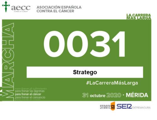 Participa en 'La carrera más larga' de la Asociación Española Contra el Cáncer